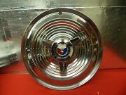 Nice Used 63 64 Ford Galaxie 500 Xl 406 427 15 Wheel Cover Red White Blue Crest