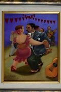 Eduardo Ungar Naive Museum Gallery Collectors Item Home Decor Office Gift Wall