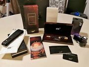 New Elizabeth I Patron Of Art 4810 Fountain Pen Limited Edition Gold