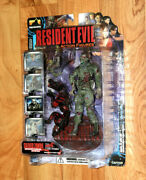 Resident Evil Code Veronica Zombie Soldier Cerberus Dog Action Figure Palisades.