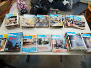 Model Railroader Magazine 1977 And 2009 Lot Of 82 Different Issues