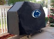 Penn State Grill Cover With Nittany Lions Logo On Black Vinyl