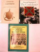 Lot Of Civil War Books On Equipment And Goods