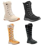 Woman's Mabel Town Mid / Tall Leather Boots Off White / Black / Wheat