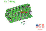 Chain 520 X 120 Green Color Without O-ring Fitmost Honda Motorcycle