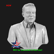 ❤️️elon Reeve Musk❤️️wood Carved Sculpture Statue Figure Artwork Picture Icon