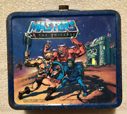 Vintage Masters Of The Universe - 1983 Lunchbox Made By Aladdin - No Thermos