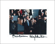 William J. Bill Clinton - Photo Signed Co-signed By Hillary Rodham Clinton