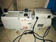 Edwards E2m28 Dual Stage Rotary Vane Vacuum Pump Includes Oil Mist Filter