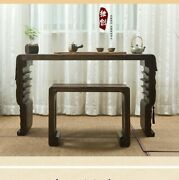 Guqin Chinese Musical Instrument Zither Harp Koto Table / Stool Foot Stool 1671