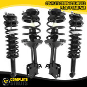 Front And Rear Complete Struts And Spring Assemblies For 2009-2013 Subaru Forester