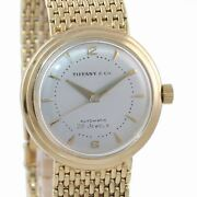 Vtg Baume And Mercier And Co Solid 14k Yellow Gold Automatic 28 Jewel Watch