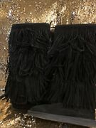 Juicy Couture Boots Fringe Size 10