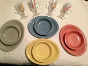 Fiestaware Retired Colors Platters And Bowls