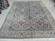 Antique Hand Knotted Rug 7''6 X 11' Nain