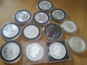 Lot Of 12 Silver Coins From Various Mints