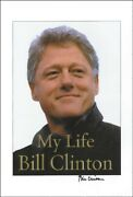 William J. Bill Clinton - Autographed Signed Poster