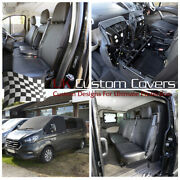 Ford Custom Transit 2019 + Similicuir Tout Seat Housses And Pare-brise 316 161 329