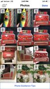 Antique Earl Toy Cash Register Tin 1930 Naylor Working Red Bell Elephant Puzzle