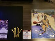 Authentic Kobe Bryant Retirement Letter Sealed Farewell Game Autograph Pic Coa