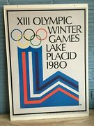 Collection Of 6 Winter Olympic Games Posters Vintage Museum Lausanne Official