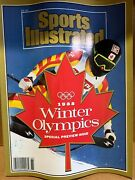 1988 Calgary Winter Olympics Sports Illustrated Special Preview Issue