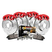 For Ford F-150 15-17 Brake Kit Power Stop 1-click Extreme Z36 Truck And Tow