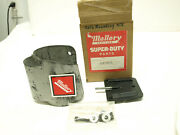 Vintage Nos Mallory Ignition Coil Mounting Kit Rubber Street Rat Rod 28902