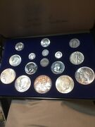 Silver Us Coins 100 Years With Presentation Case Invest In Silver See Photos