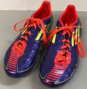 Very Nice Adidas F50 Youth Boys Soccer Cleats Shoes Size 6 1/2 Very Good Cond