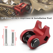 1×ls Engines Aluminum Alloy Valve Spring Compressor And Installation Tool Kit Red