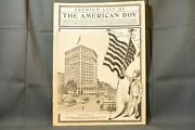 Antique Men's Catalog, The American Boy, Featuring Pocket Watches, Fountain Pens