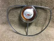 Used Ford 0a-3625-b 1950's Ford Steering Wheel Chrome Horn Ring Fomoco
