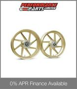 Gold Galespeed Type E Lightweight Forged Alloy Wheels Ducati Monster 900 1993