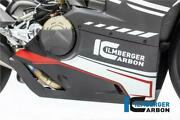 Ilmberger Gloss Carbon Bellypan For Full Akrapovic Ducati Panigale V4r 2020