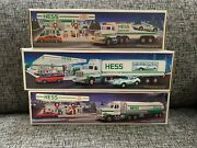 🔥hess Truck 1990 1991 1992. Each One Comes In Original Box