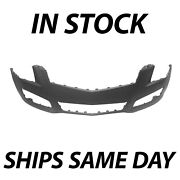 New Primered - Front Bumper Cover Replacement For 2013 2014 Cadillac Ats 13 14