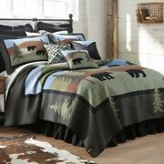 Rustic Cabin Lodge Primitive Bear Lake Quilt Collection Donna Sharp