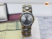 Mens Vintage Longines Wrist Watches Two Tone Gold / Ss. Serviced And New Battery