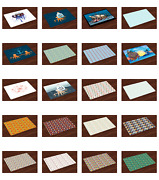 Ambesonne Fabric Place Mats Set Of 4 Placemats Dining And Kitchen Table