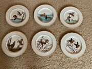 1950andrsquos Vintage Frank Vosmansky By Abercrombie And Fitch Bird Plates. 900.00/obo.