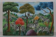 Fernand Pierre Naive Haiti Haitian Museum Gallery Collector Home Decor Gift
