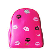 A-za Brand Barbie Backpack Bag In Hot Pink With Gold Trim