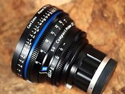 Zeiss 50mm T2.1 Planar T Compact Prime Cp.2 W/sony E-mount Feet Scale Lens