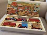 2nd Edition Corgi Major Toys Gift Set 23 Chipperfields Circus Models Restored