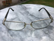 Authentic Bvlgari Bv 2093-b 266 Brown Eyeglasses Authentic Rx 53-16 W/case Used