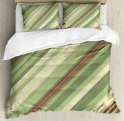 Retro Abstract Duvet Cover Set Twin Queen King Sizes With Pillow Shams