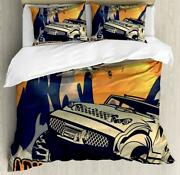 Adventure Saying Duvet Cover Set Twin Queen King Sizes With Pillow Shams