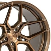 4 20 Staggered Rohana Rfx11 20x10 20x11 Bronze Concave Wheels Forged A3
