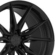 4 20 Staggered Rohana Rfx13 20x9 20x10 Black Concave Wheels Forged Rims A3